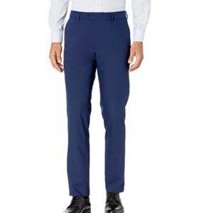 Savile Row Co. Men's Esses Dress Pants Blue Size 38W